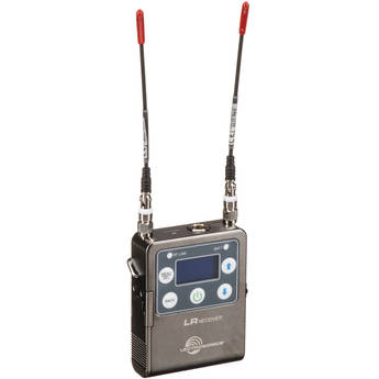 Lectrosonics L Series LR Camera-Mount Wireless Receiver (B1: 537 to 607 MHz)