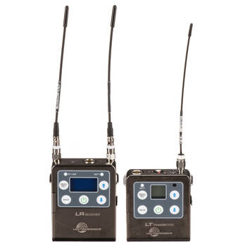 Lectrosonics L Series ZS-LRLT Camera-Mount Wireless Omni Lavalier Microphone System (A1: 470 to 537 MHz)