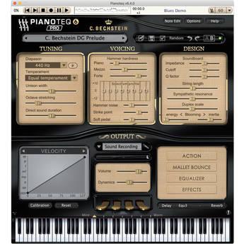 Pianoteq C. Bechstein Digital Grand Piano Virtual Instrument Software (Download)