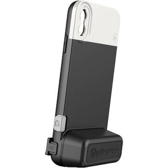 Shuttercase Battery Case for iPhone XS Max (White Lens Mount)
