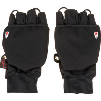 The Heat Company Heat 2 Softshell Mittens/Gloves (Size 9, Black)