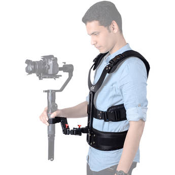 DigitalFoto Solution Limited THANOS Support Vest with Spring Arm for Select Single-Handle Gimbals