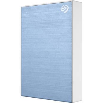 Seagate 5TB Backup Plus USB 3.0 External Hard Drive (Light Blue)