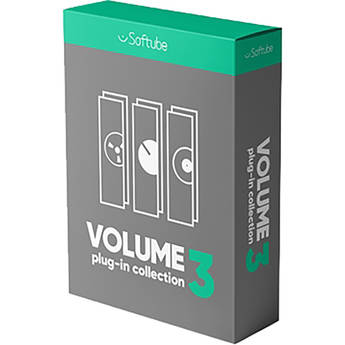 Softube Volume 3 - Software Plug-In Bundle for Pro Audio Applications (Upgrade from Volume 2, Download)