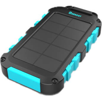 Renogy E.POWER 10000mAh Solar Power Charger with Built-In Solar Panel