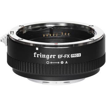 Fringer EF-FX Pro II Lens Mount Adapter for EF- or EF-S-Mount Lens to Fujifilm X-Mount Camera