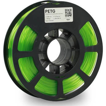 Kodak 2.85mm PETG Filament (750g, Translucent Green)