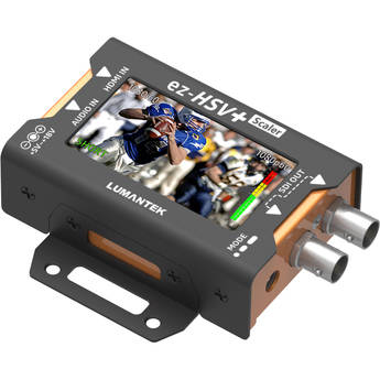 Lumantek EZ-HSV+ HDMI to SDI Converter with Display and Scaler