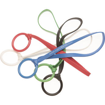 LastyBands Elastic Strap with Durable Plastic Ring (10-Pack, Multicolored)