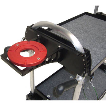 Backstage Equipment Mag Mitchell Mount with Front Box Adapter (Aluminum)