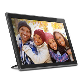 "Aluratek 17.3"" Digital Photo Frame with Touchscreen & Wi-Fi"