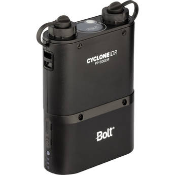 Bolt PP-500DR Dual-Outlet Power Pack with Removable Battery