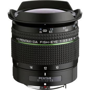 Pentax HD DA Fisheye 10-17mm f/3.5-4.5 ED Lens