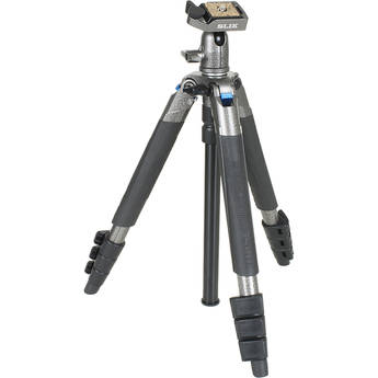 Slik Sprint Mini III Travel Tripod with SBH-100 DQ Compact Ball Head (Gun Metal Gray)