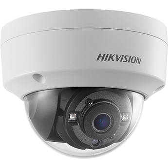 Hikvision DS-2CE57D3T-VPITF 2MP Outdoor Analog HD Dome Camera with Night Vision & 2.8mm Lens (White)