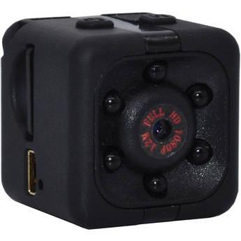 "Mini Gadgets 1080p 1"" Mini Cube Camera with Night Vision & 8GB microSD Card"