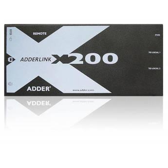 Adder ADDERLink X200 VGA CATx Extender with USB, Stereo Audio & De-skew