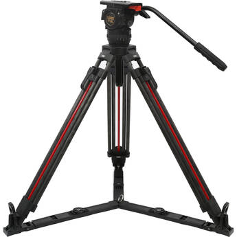 Teris TSN6CF-Q Carbon Fiber Tripod & Fluid Head System