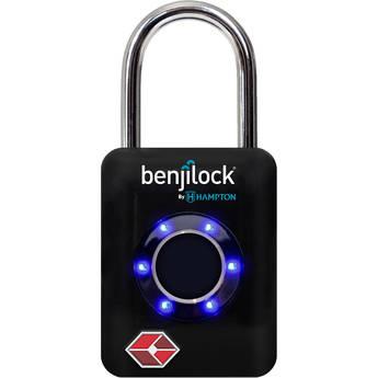 BenjiLock TSA Fingerprint Padlock (Black)