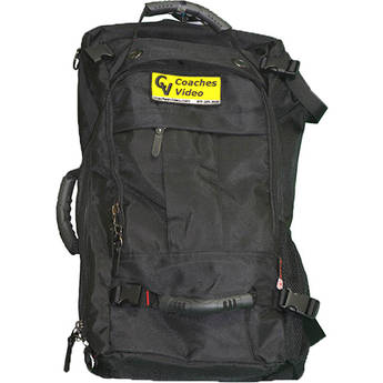 Coaches Video Travel Backpack for System Components