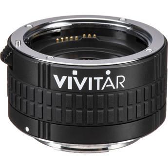 Vivitar 5 Elements 2x Autofocus Teleconverter for Canon EF/EF-SMount Lens