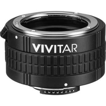 Vivitar 5 Elements 2x Autofocus Teleconverter for Nikon F-Mount Lens