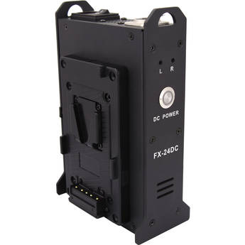 Fxlion 24V Mini Skypower Dual-Channel V-Mount Battery Output Adapter And Charger