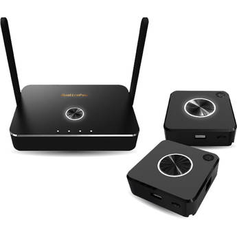 EZCast Pro QuattroPod Standard Pack with Two T01 Transmitters & R01 Receiver