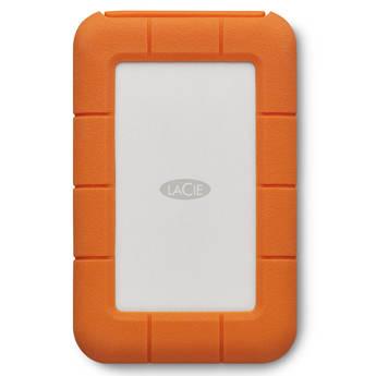 LaCie 2TB Rugged Mobile Hard Drive (Thunderbolt & USB 3.1 Gen 1 Type-C)