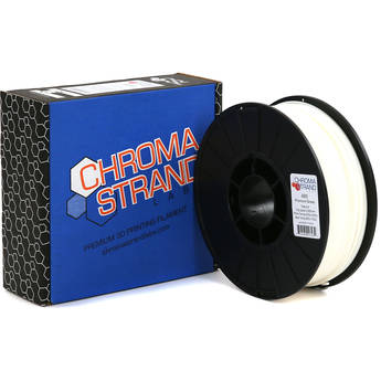 Chroma Strand Labs 3mm ABS Filament (1kg, White)
