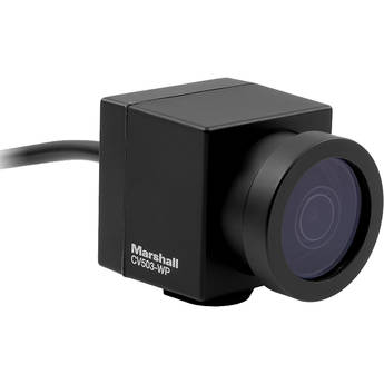 Marshall Electronics CV503-WP Weatherproof Miniature 3G-SDI HD Camera with 3.6mm Lens