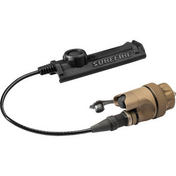 SureFire DS-SR07 Waterproof Remote Pressure Switch Assembly for Scout Light Series (Tan)