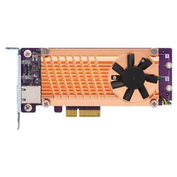 QNAP QM2 M.2 2280 PCIe SSD & 10GbE Expansion Card