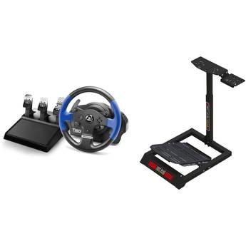 Thrustmaster T150 PRO Force Feedback Racing Wheel & Next Level Racing Racing Wheel Stand Lite Kit
