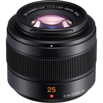 Panasonic Leica DG Summilux 25mm f/1.4 II ASPH. Lens