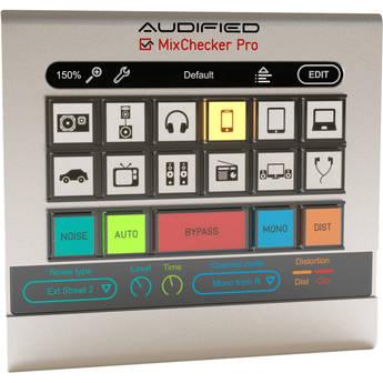 AUDIFIED MixChecker Pro - Monitor Simulation Plug-In (Download)