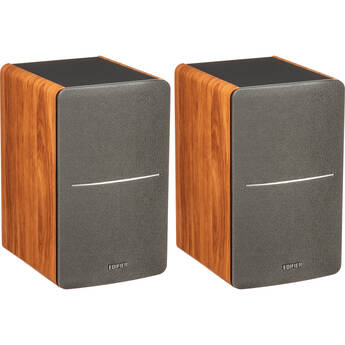 Edifier R1280T 2-Way Powered Bookshelf Speakers (Wood, Pair)