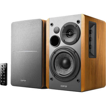 Edifier R1280DB Bluetooth Speaker System (Brown)