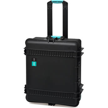 HPRC 2700WE HPRC Hard Case without Foam (Black with Blue Handle)