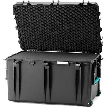 HPRC 2800WF Hard Case with Foam (Black with Blue Handle)