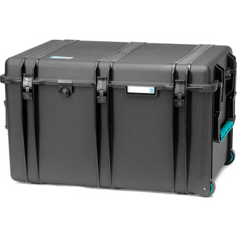 HPRC 2800WE Hard Case without Foam (Black with Blue Handle)
