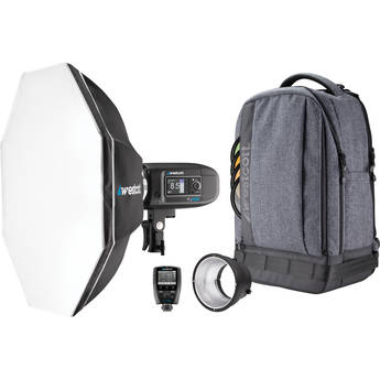 Westcott FJ400 400Ws Strobe with AC/DC Battery 1-Light Backpack Kit