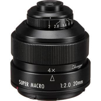 Mitakon Zhongyi 20mm f/2 4.5x Super Macro Lens for Canon EF