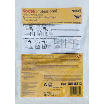 Kodak Professional Hypo Clearing Agent (To Make 5 gal, 2019 Version)