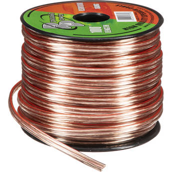 Pyramid High Quality 18 AWG Speaker Zip Wire (100' Spool)