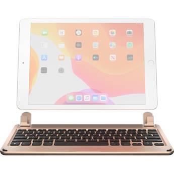 "Brydge Wireless Bluetooth Keyboard for 10.2"" iPad 2019 / 7th Gen (Gold)"