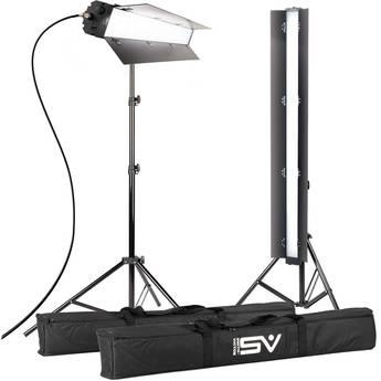 "Smith-Victor ACIES 48K Pro Series Soft LED 2-Light Kit (48"")"