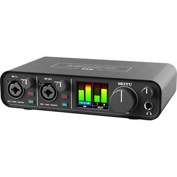 MOTU M2 Desktop 2x2 USB Type-C Audio/MIDI Interface
