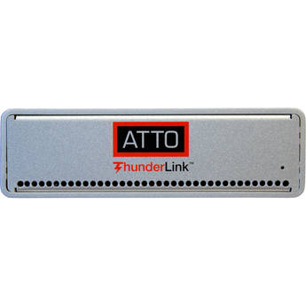 ATTO Technology ThunderLink NT 2102 Thunderbolt 2 to 2-Port 10GbE Ethernet Adapter (US Power Cord)