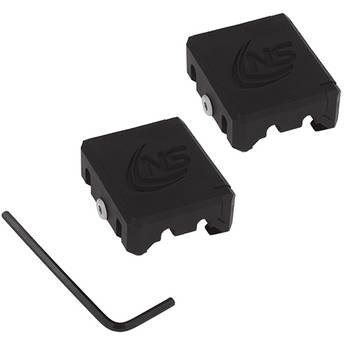 Nightstick Picatinny Rail Wire Management Clamp (Pair)